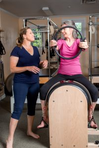 pilates and riding