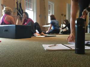 Becoming Pilates Teachers